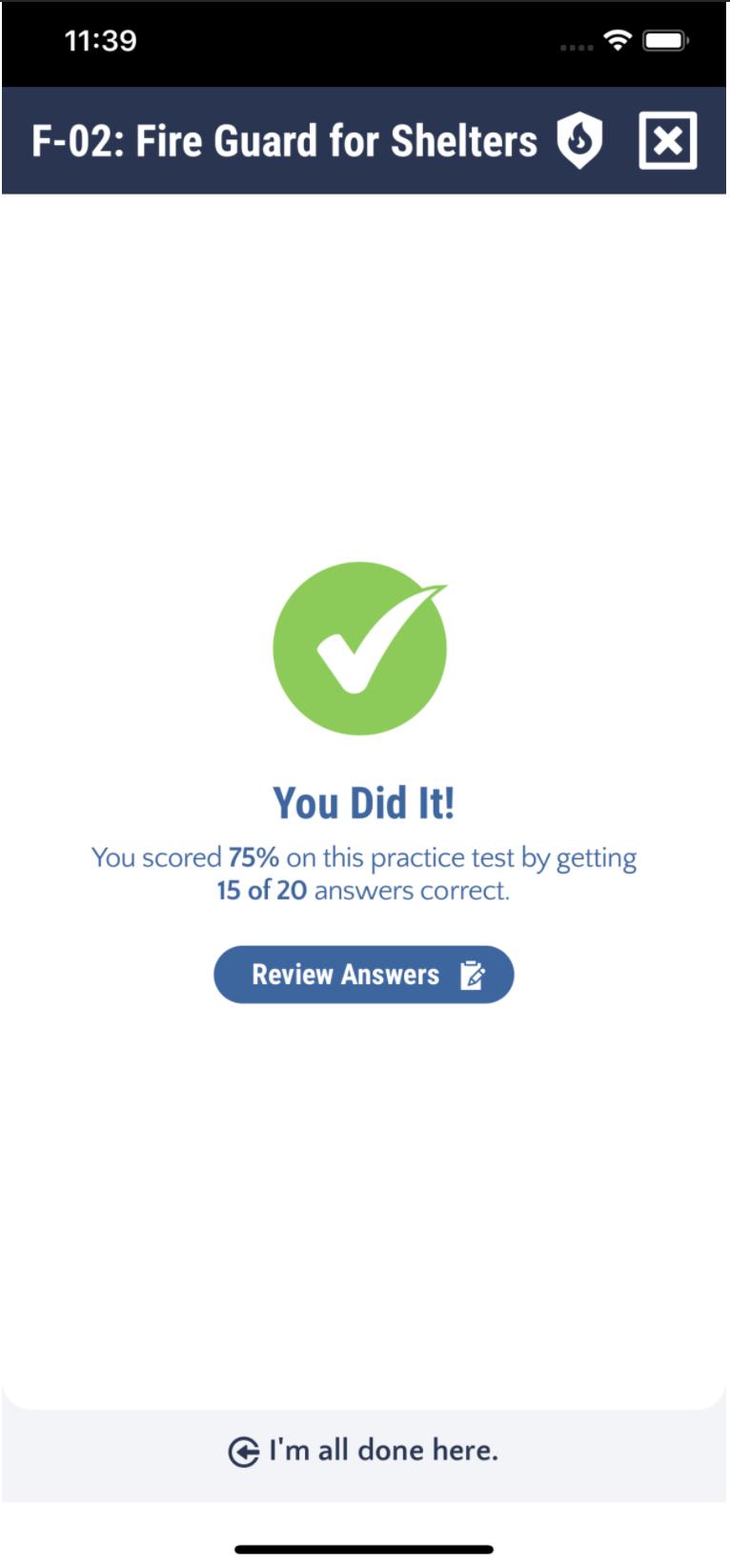 F02 Fireguard Practice Test App